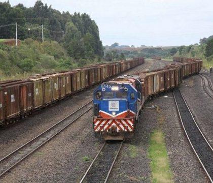 Nova Ferroeste deve iniciar operações com transporte de 26 milhões de toneladas (Foto: Divulgação)